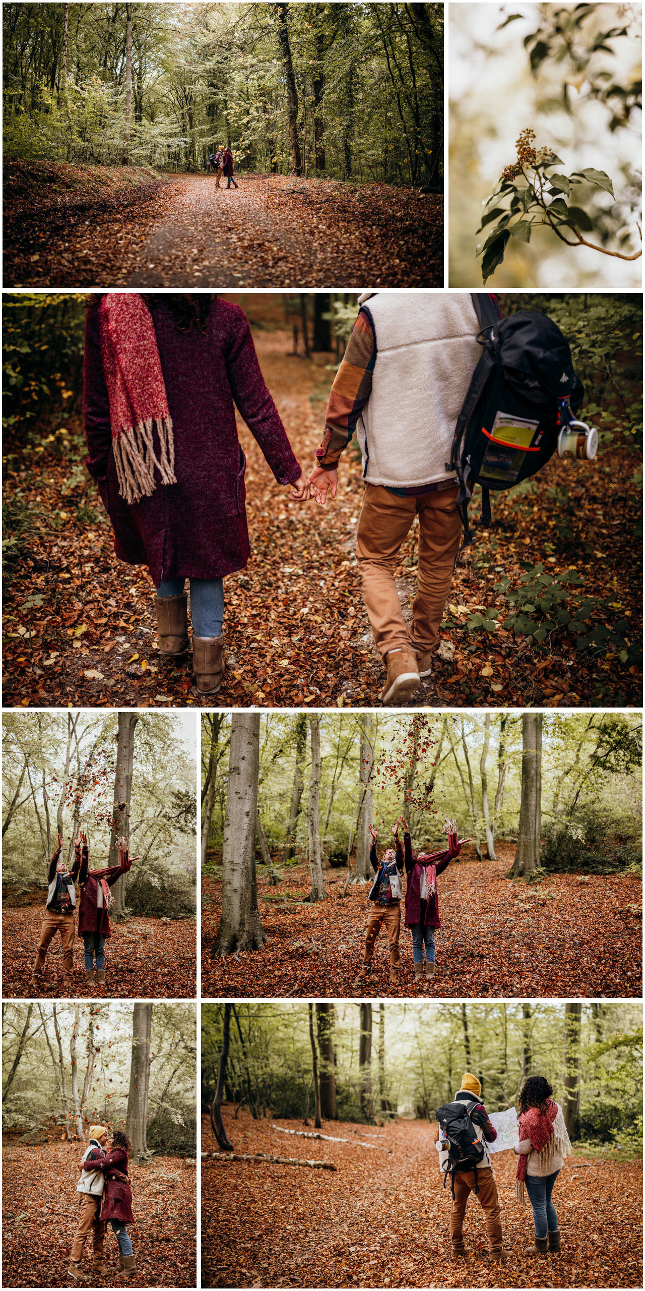 séance couple automne